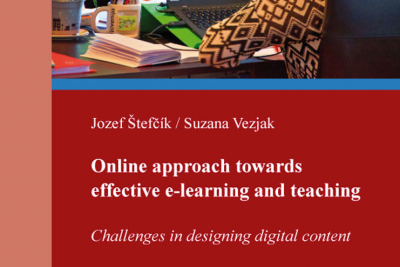 Nová publikácia: Jozef Štefčík / Suzana Vezjak: Online approach towards effective e-learning and teaching