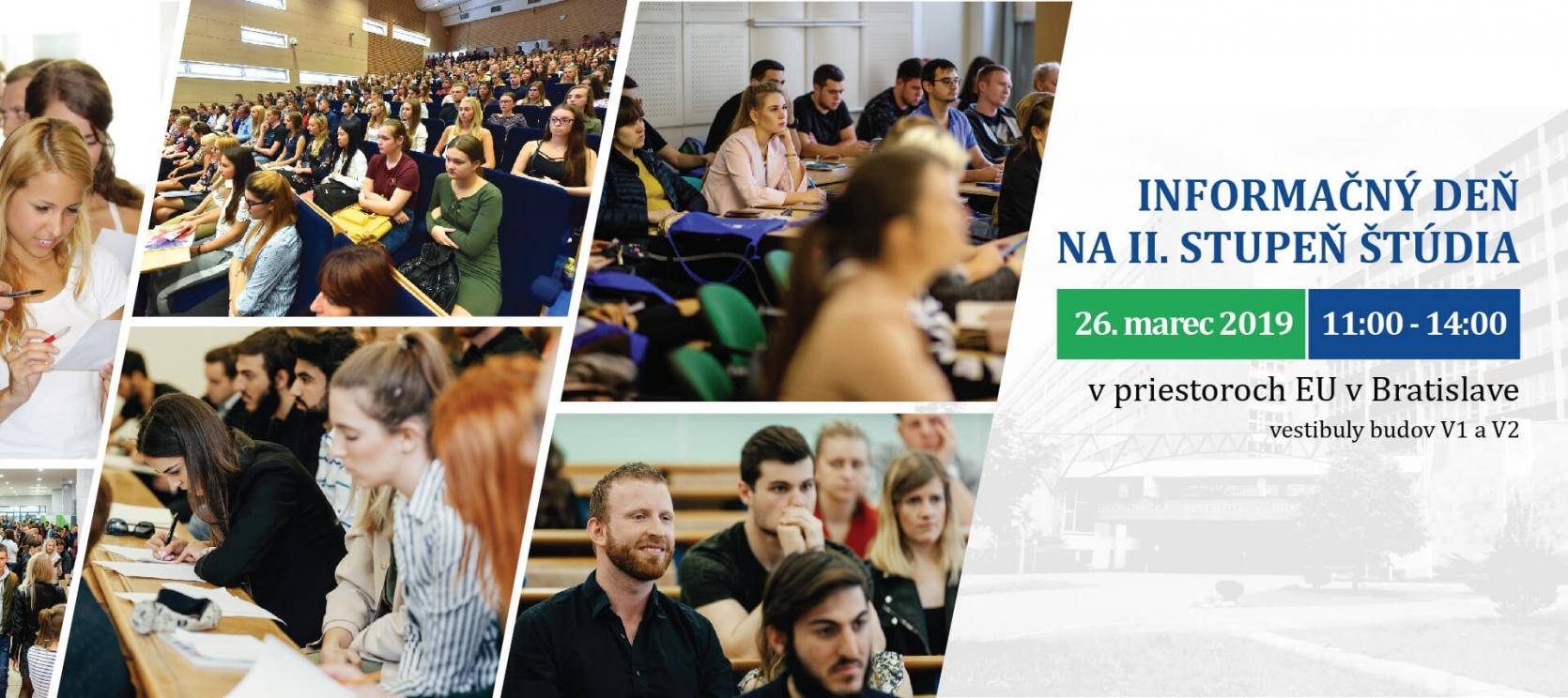 Informačný deň na EUBA pre II. stupeň štúdia 91f1e3308e7